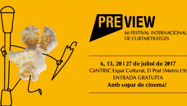 El Prat acull la 6a edició de PREVIEW, Festival Internacional de Curtmetratges