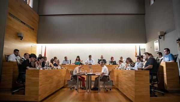 Ple municipal mandat 2019-2023 (imatge d'arxiu)