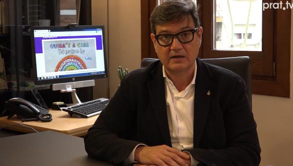 Declaració institucional alcalde Mijoler el Prat Coronavirus