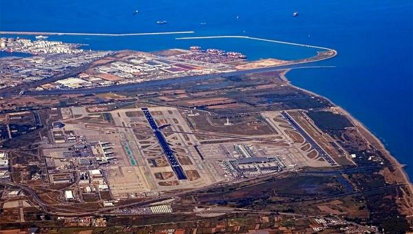 Imatge d'arxiu vista aèria del Prat