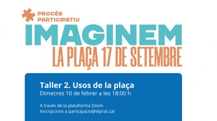 Taller 2 procés participatiu plaça 17 de setembre