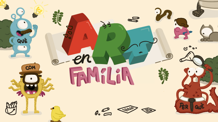 Art en Família a Torre Muntadas