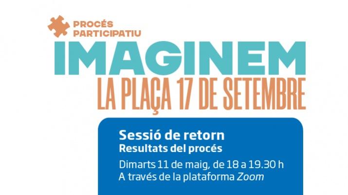 Sessió de retorn procés participatiu de la plaça 17 de setembre