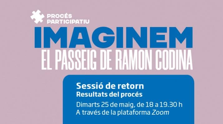 Taller 1 procés participatiu passeig Ramón Codina
