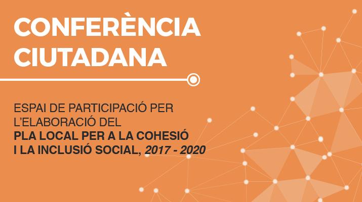 Cartell de la conferència ciutadana