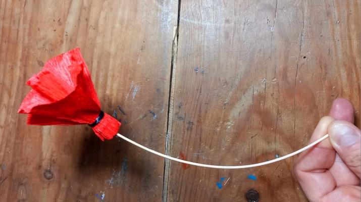 Bombo al circ: Flor de Paper