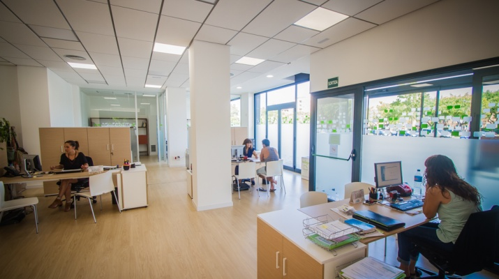 Prat espais for Oficina habitatge eixample