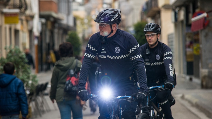 Policia local el Prat