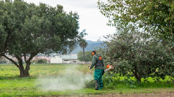 Alumne de FP Agrària a Can Comas (Parc Agrari del Baix Llobregat)