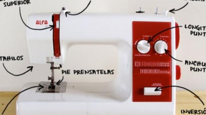 introducció màquina de cosir