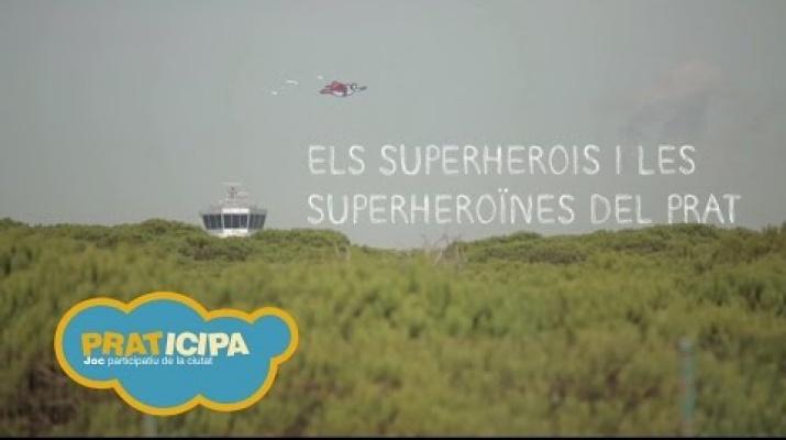Praticipa 2015: Els Superherois i les superheroïnes del Prat