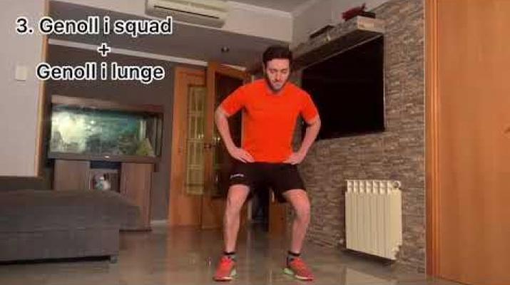 Entrenament de cames