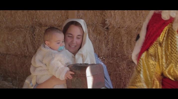 Voluntaris i entitats del Pessebre Vivent del Prat ens desitgen bon Nadal!