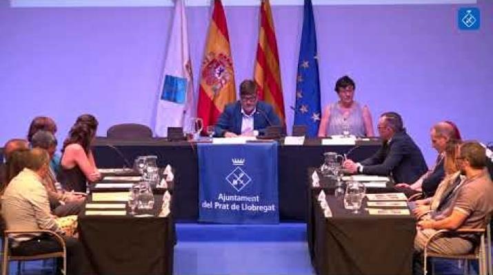 Discurs d'investidura de LLuís Mijoler, alcalde del Prat de Llobregat.