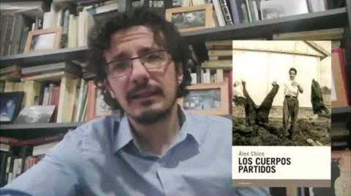 """Álex Chico presenta """"Los cuerpos partidos"""" en el Sant Jordi Virtual Candaya"""