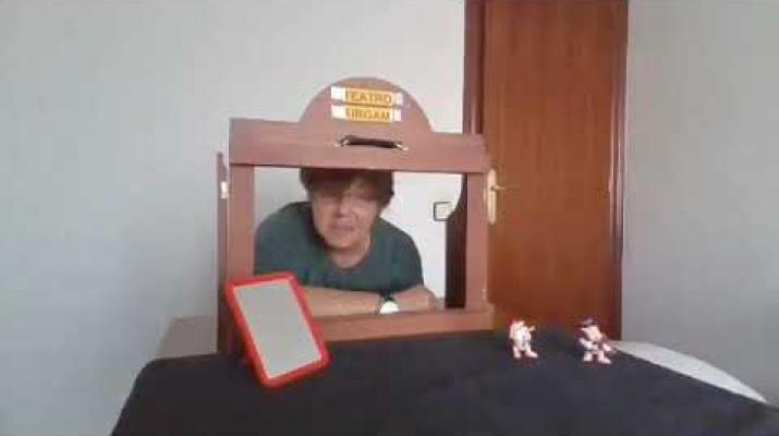 Presentació del Paraules a la Fresca Virtual - Vídeo-creació de Mª José Ibáñez
