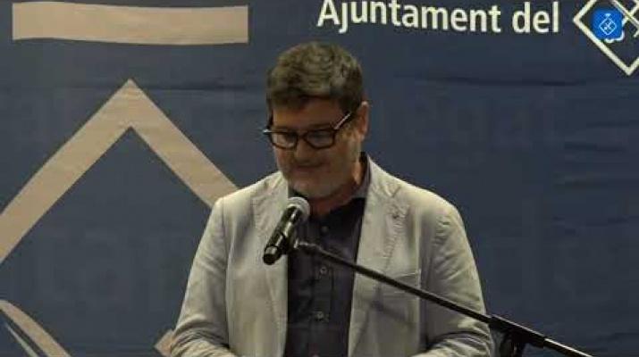 Discurs de l'alcalde del Prat de Llobregat, Lluís Mijoler. Diada 2019