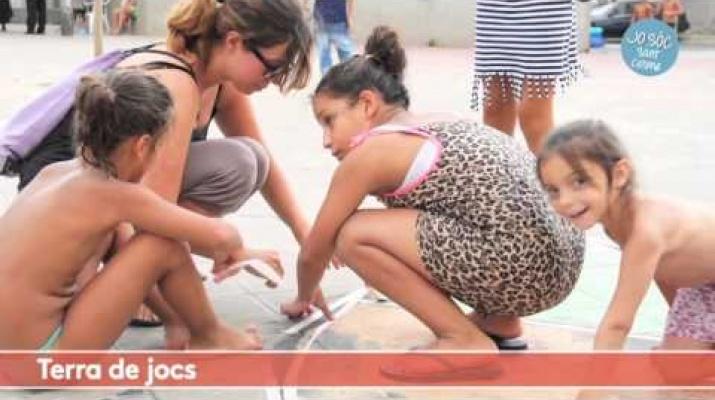 Escola d'Estiu de Sant Cosme: Diversitat, carrer, jocs i convivència