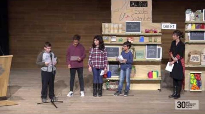Adhesió a la Xarxa Escoles Sostenibles - Escola Tarradellas
