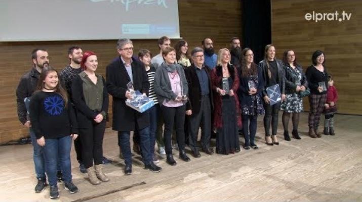 Els premis Prat Emprèn reconeixen les millors iniciatives empresarials del 2018