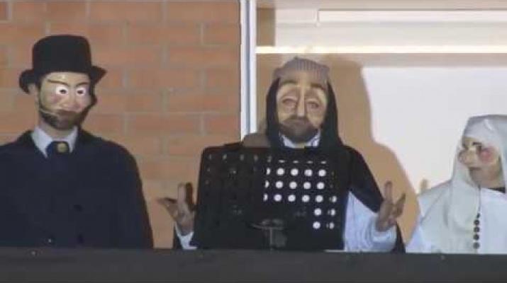 Pregó d'inici del Carnaval del Prat. Carnaval de la Peresa
