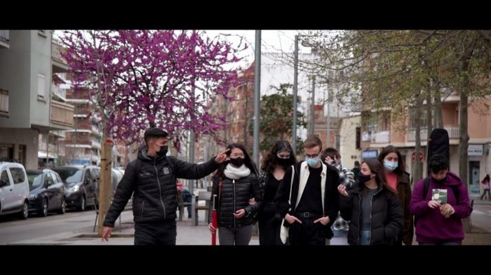 Joves de l'institut Salvador Dalí: reflexions d'un confinament. Connexions 2020-21.