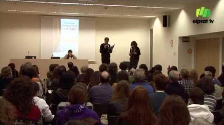 La pratenca Alba Sabaté omple la Biblioteca