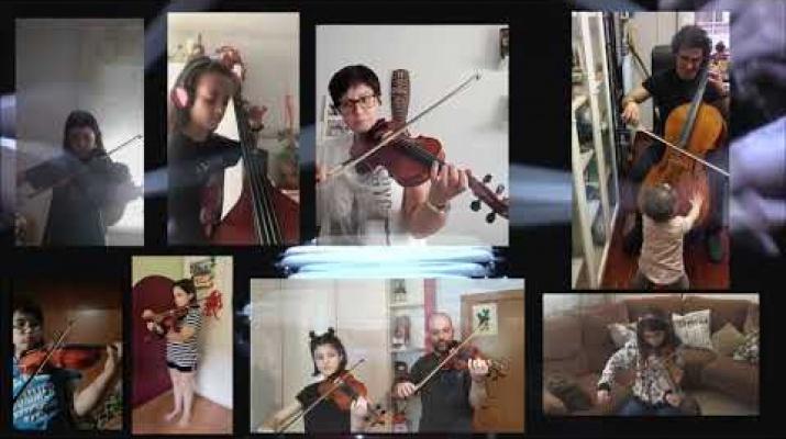 La Muntanya - Jam de corda - L'Escola d'Arts en Viu