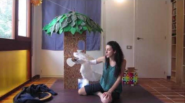 Tarda en família virtual: El cigne que volia conèixer el sol