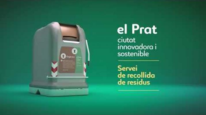 Arriba al Prat el nou servei de neteja de la ciutat