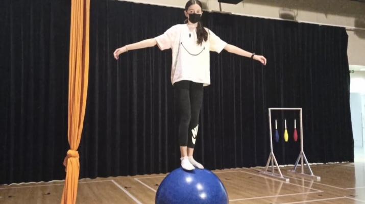 """Exposició interactiva """"Bombo al Circ"""": Equilibris"""