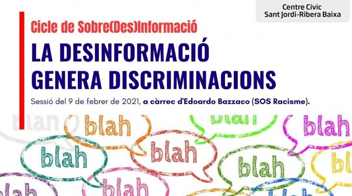 'La desinformacio genera discriminacions' amb Edoardo Bazzaco de SOS Racisme