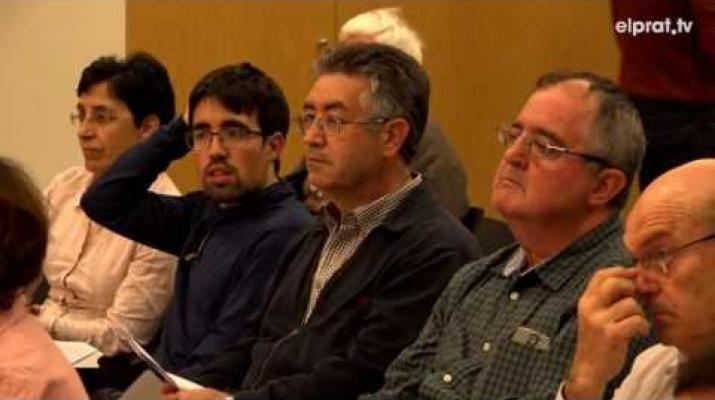 Pau Esteban imparteix una xerrada entorn els canvis i reptes del Delta del Llobregat