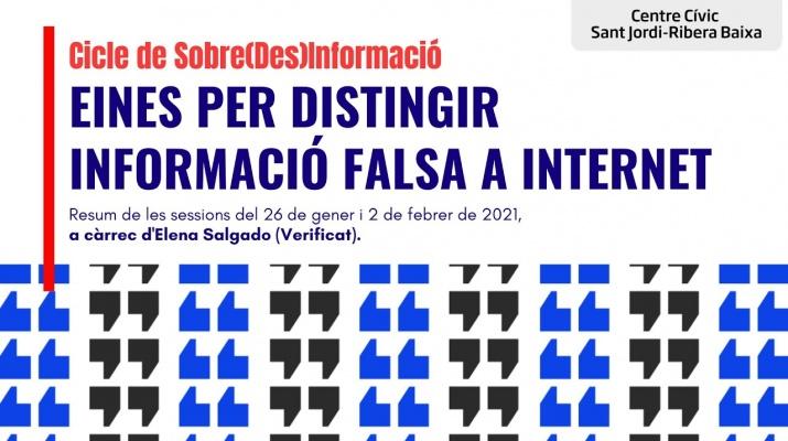 'Eines per distingir la informació falsa a Internet' amb Elena Salgado de Verificat
