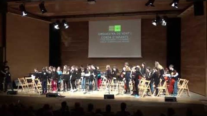 Concert d'Hivern de Grans Conjunts - 18/12/17 - Escola Municipal de Música del Prat