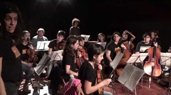 I si estronxem? concert performàtic de l'Orquestra de corda de joves