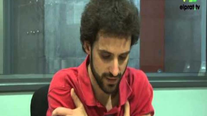 El periodista Bertran Cazorla al Prat Ràdio