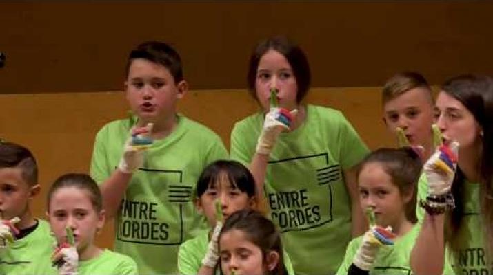 GALL DE FOC Per a grup infantil i orquestra simfònica | RESUM