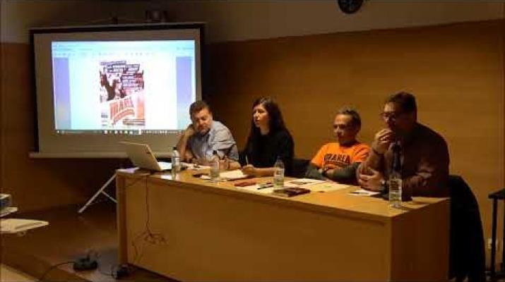 "2º Acto Marea Pensionista Prat de23-11-17 ntervencion Elena Idoate-Seminari  ""Taifa"""