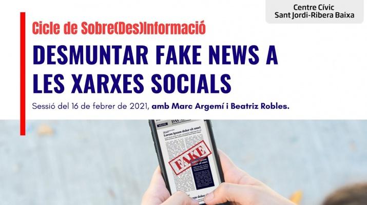 'Desmuntar fake news a les xarxes socials' amb Beatriz Robles i Marc Argemí