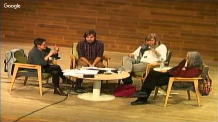 """""""ReaccionaDos"""" amb Rosa Maria Artal, Àngels Martínez Castells i Sergi Picazo"""