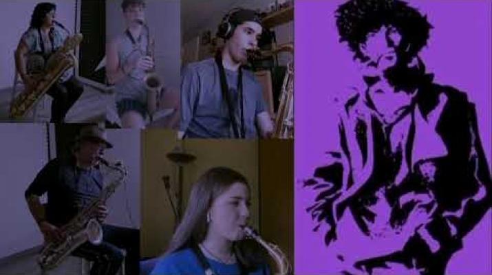 TANK - Cowboy Bebop - Big Band de L'Escola d'Arts en Viu