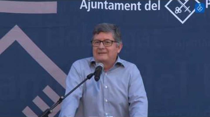 Acte de la Diada Nacional de Catalunya al Prat de Llobregat