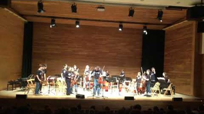 Concert de l'intercanvi de l'Escola d'Arts en Viu del Prat i l'EMM de Capdepera