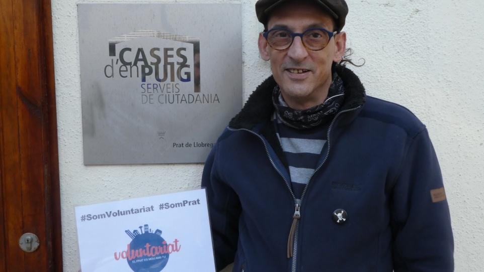 Carlos Cordero, voluntari en 1a persona