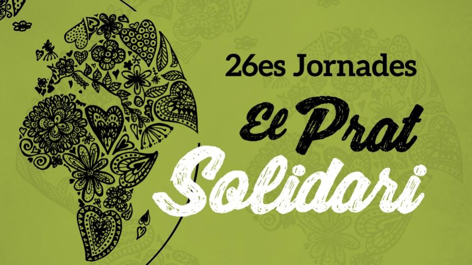 """Imatge gràfica de la campanya """"26es Jornades El Prat Solidari, 2019"""""""