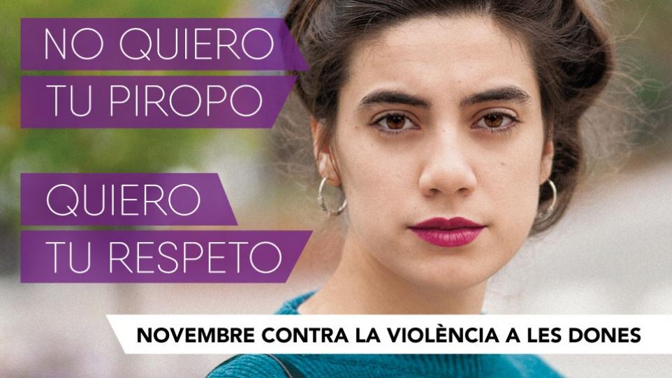 Contra la violència a les dones 2016