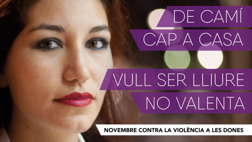 Novembre contra la violència a les dones 2016