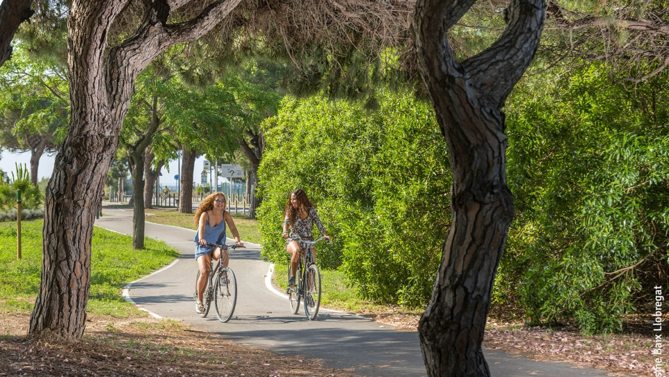 El Prat en bicicleta