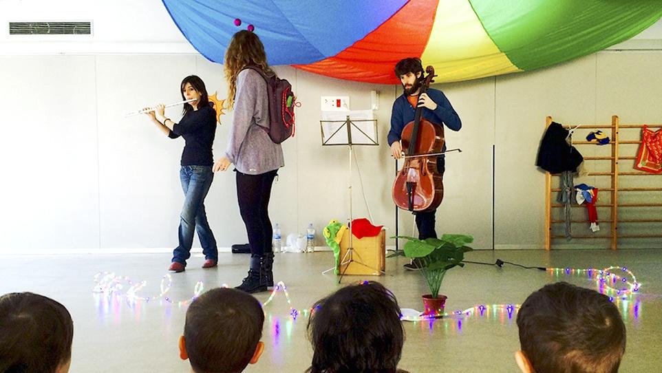 Música a les escoles bressol i als instituts